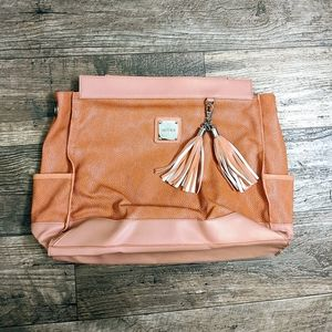 Miche Coral Oversized Clutch with Tassels
